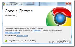 Browser Google Chrome Baru Dengan 1.500+Ekstensi Dan Bookmark Sync