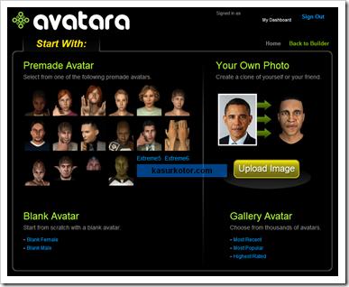 Membuat Avatar Dalam Bentuk 3D