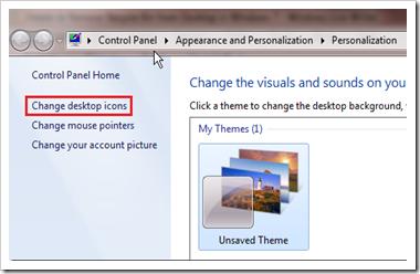 Cara Menghapus atau Restore Ikon Recycle Bin di Desktop Pada Windows 7