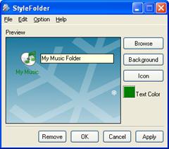 StyleFolder- Mengubah Background,Font Dan Icon Dari Folder Di Konteks Menu
