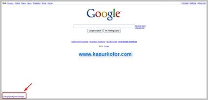 Mengganti Background di Google