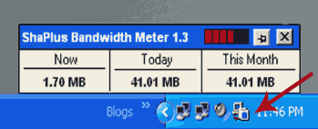bandwidth meter