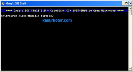 Membuka Command Prompt yang di Block/Disable