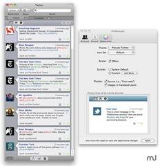 Membuka Twitter dan Facebook dalam Satu Aplikasi Mac