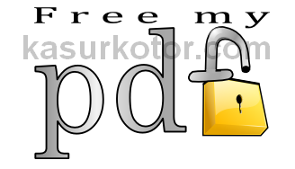 Menghilangkan dan Menghapus Password pada file PDF