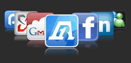 Menggabungkan Gmail, Windows Live, Facebook Twitter Dalam Satu Tempat