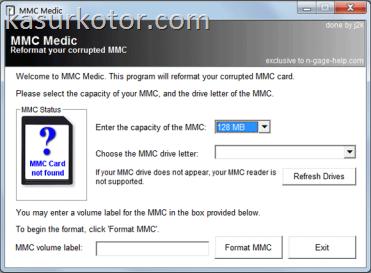 Software untuk Memperbaiki Kartu Memori (Memory Card) yang Rusak