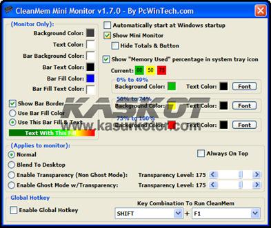 CleanMem: Membersihkan Memory Ram dari Proses Windows yang Tidak Penting