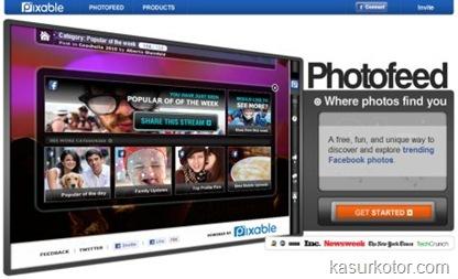 Mengatur Foto Anda di Facebook dengan Pixable