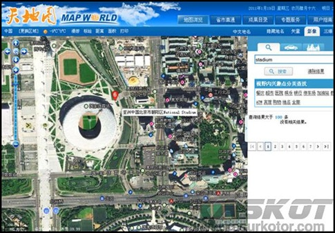 Map World Saingan Google Maps Dari China