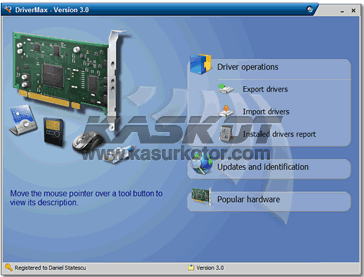 Backup Driver Komputer dan Laptop dengan Drivermax