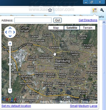 Download dan Install Mini Google Maps