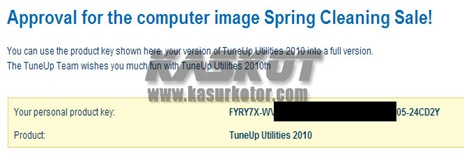 Download TuneUp Utilities 2010 + Serial Number GRATIS