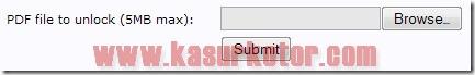 6 Kumpulan Alat Menghilangkan dan Membuka Password pada File PDF