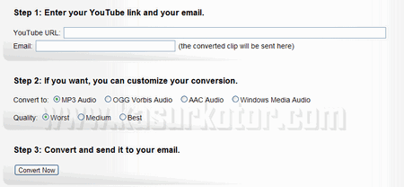 Convert Video YouTube ke MP3 dengan Mobile Media Converter