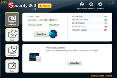 Download IObit Security 360 Free, Menghapus Spyware dan Adware dari Komputer