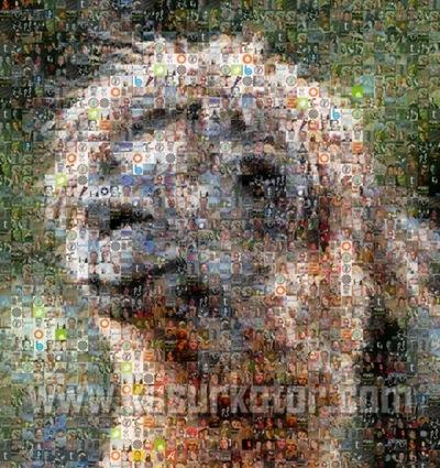 Membuat Foto Mosaic dengan Menggunakan Foto Teman di Facebook