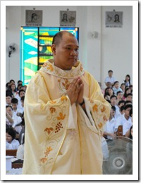 Rev. Fr. Jasper Roma Hebron (Photo courtesy of Fr. Estephen Espinoza)