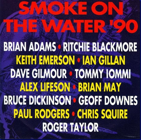 Rock Aid Armenia - Smoke On The Water (featuring Bruce Dickinson, Brian May,