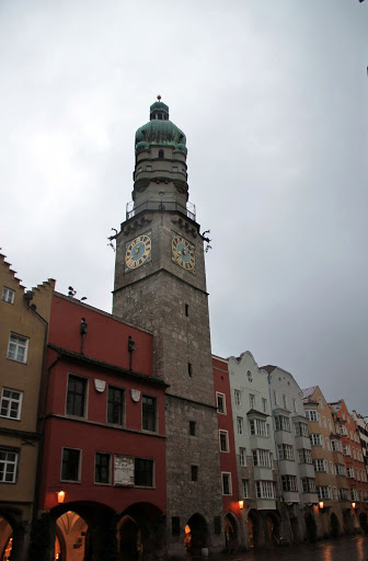 Clock tower, Innsbruck Austria