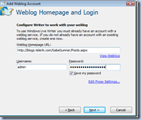 proses submit blog di windows live writer