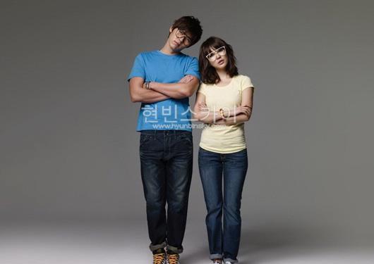 Hyun Bin and Yoon Eun Hye