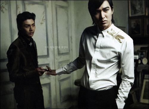 Lee Min Ho and Kim Joon