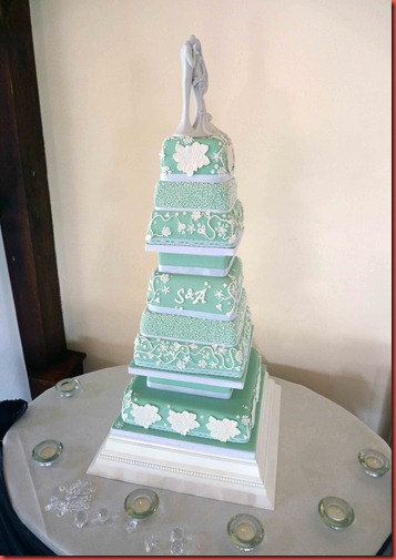 7-tier-tiffany-wedding-cake