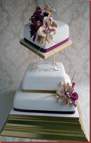 3-tier-orchids-wedding-cake