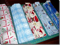 Wonky Log Cabin Strips 3