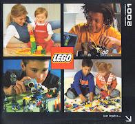 Русский каталог LEGO за второе полугодие 2001 года