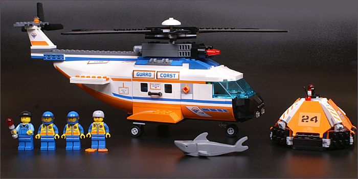 lego coast guard helicopter 7738 instructions