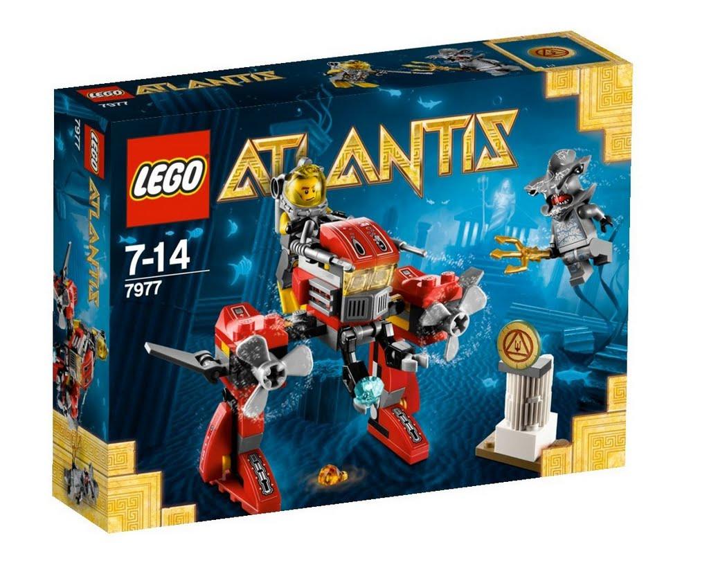 LEGO Atlantis 7977 Seabed Strider Sticker # 4614219