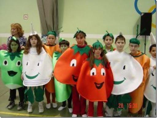ideas para disfraces caseros de frutas y verduras | Todo Halloween