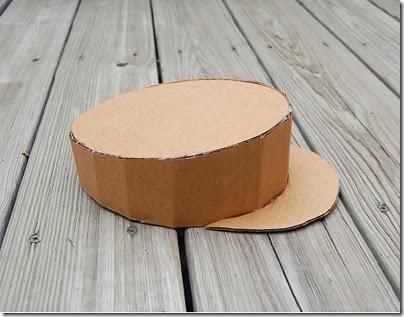 Sombreros Hechos Con Cart  N Para Disfraces