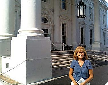 Marsha-at-white-house-