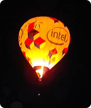 Glow-balloon