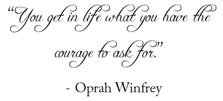 oprah courage quote