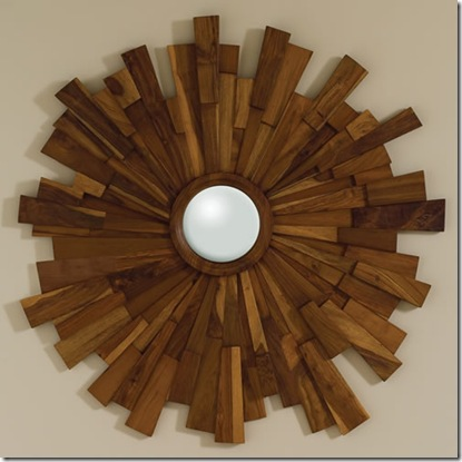 wood sunburst