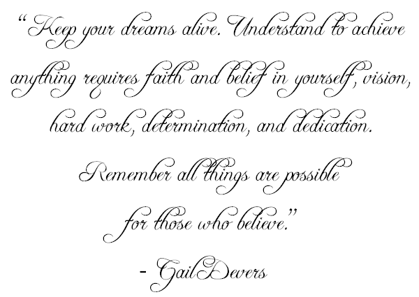 quote gail devers