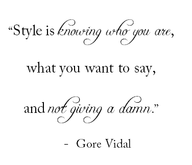 quote style
