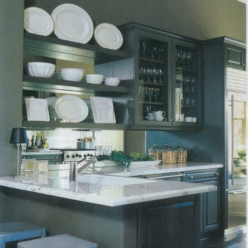 Love it or Leave it: Dark Painted Cabinets
