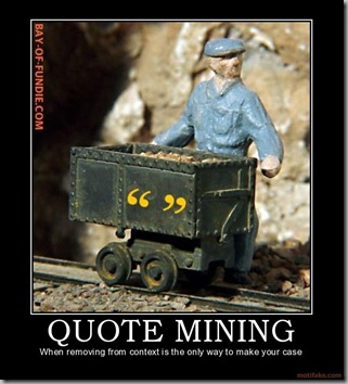 Quote mining