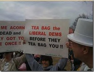 Tea Bag sign