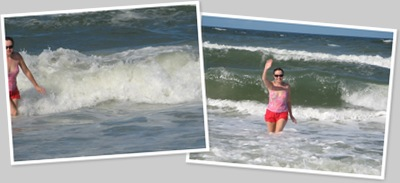 View Beth frolicking in Florida
