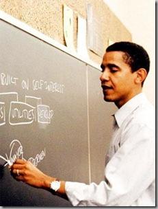 Obama teaching