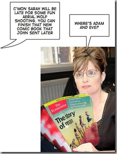 Palin and comic book