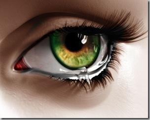 Grief eye