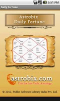 Screenshot of Astrobix Daily Fortune