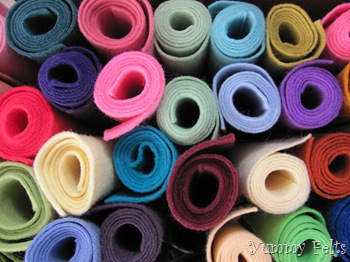 Yummy Felts Wool Felt